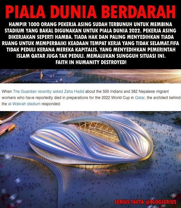 Rambo Malaysia: Piala Dunia Berdarah 2022 Di Qatar (9 Gambar)