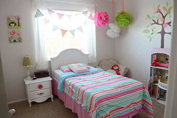 Girl Bedroom from Medley of Golden Days Blog