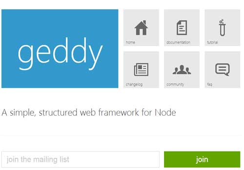 Geddy ~ 43 Useful and Time Saving Web Development Kits and Frameworks