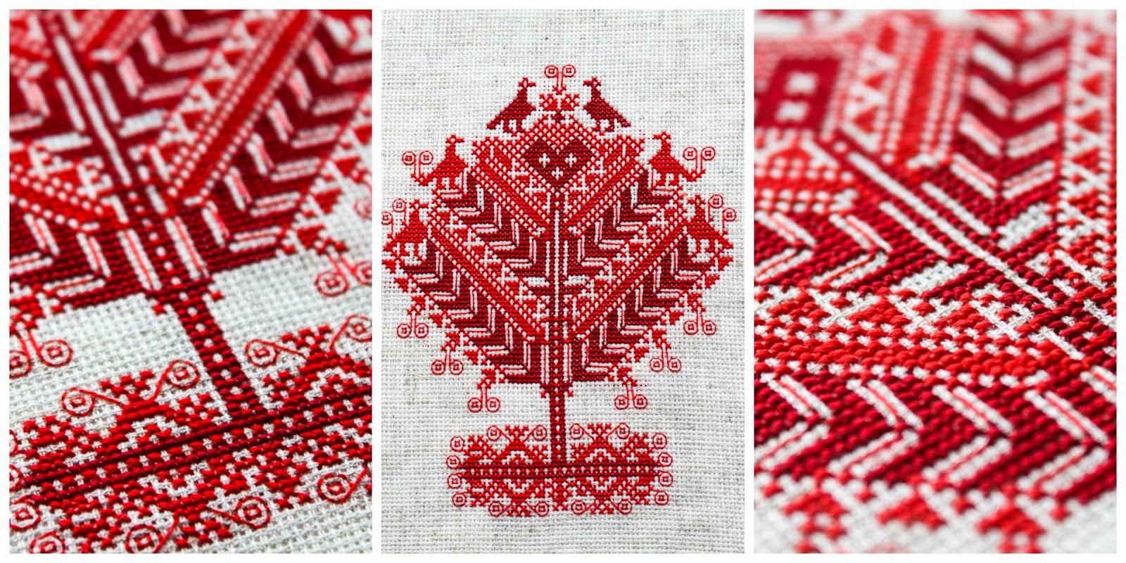 Славянский орнамент в вышивке крестом