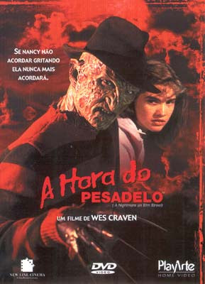 Capa - A Hora do Pesadelo (A Nightmare on Elm Street)