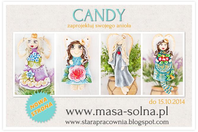 candy z okazji otwarcia nowej strony www.masa-solna.pl