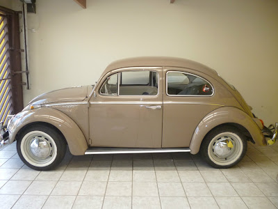 Fusca 67 roubado