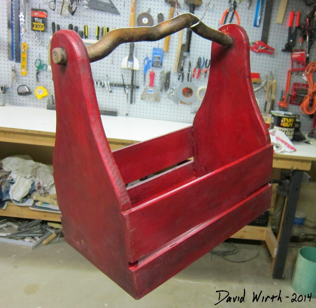 easy homemade tool box, diy, wood, paint