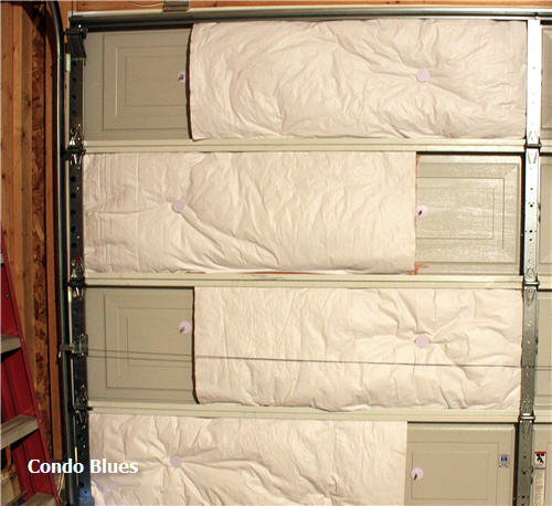 how to insulate garage doorCondo Blues Garage Workshop Transformation Insulate the Garage Door