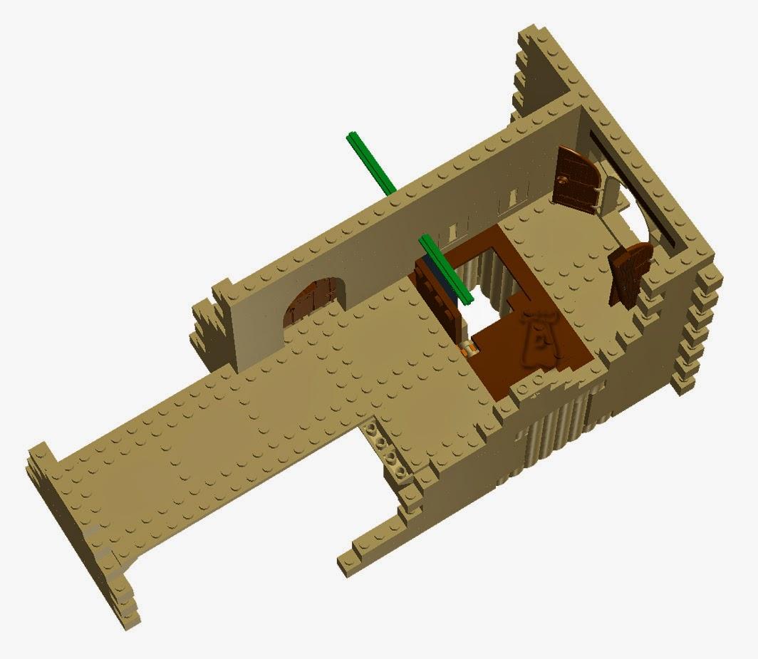 Ejemplo 2: Haha con puente izable.