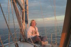 Keri catching the Sunset