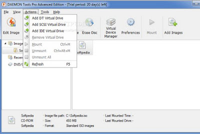 Giveaway DAEMON Tools Pro Advanced 5 Free Serial