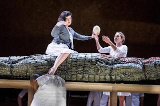 ENO: Julius Caesar, Anna Christy and Fabulous_Beast (c) Robert Workman