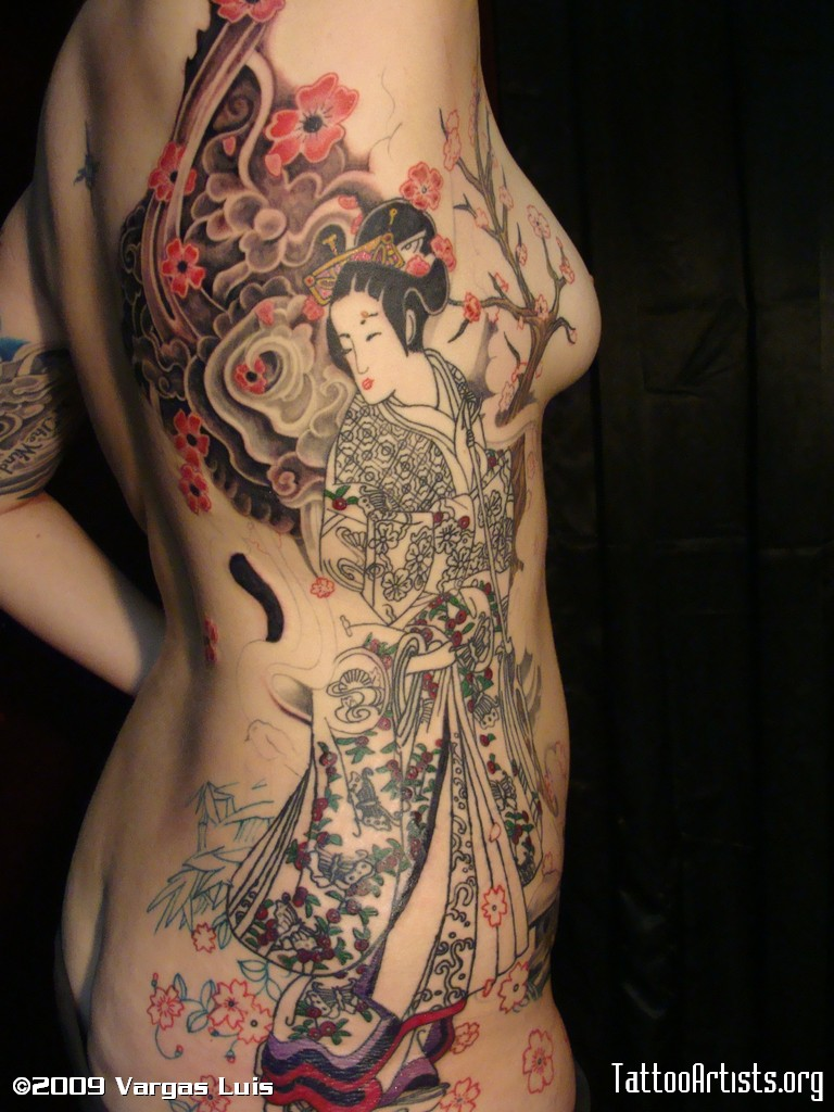 Latest Japanese Tattoo Designs For Women