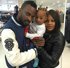 9ice, his daughter and baby mama