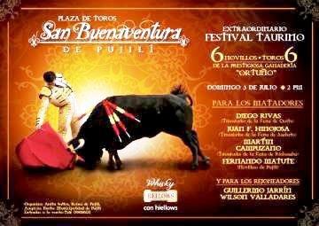 PUJILI 2015 Plaza de Toros SAN BUENAVENTURA