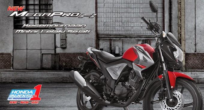 Pilihan Warna New Honda Mega Pro FI