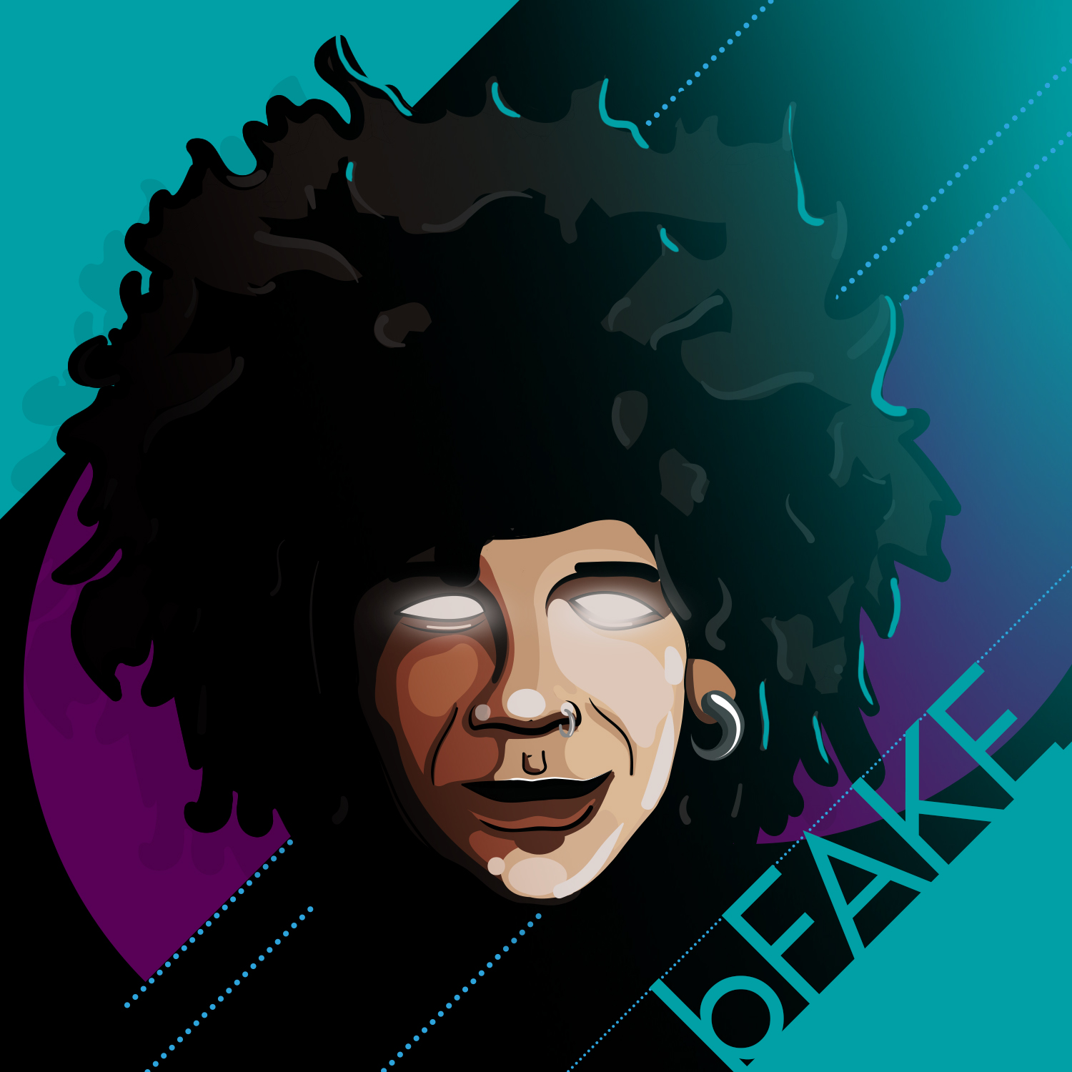 bFAKE illustration