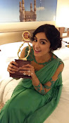 Adah Sharma Dazzling pics in green dress-thumbnail-7