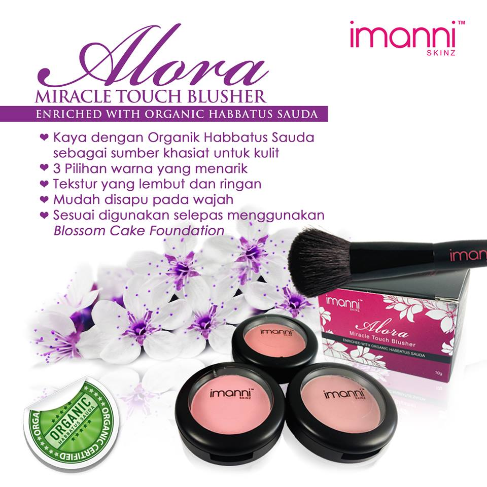 Alora Miracle Touch Blusher
