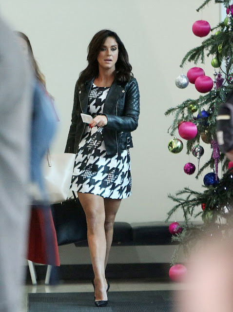Television Personality, @ Vicky Pattison - ITV Studios In London