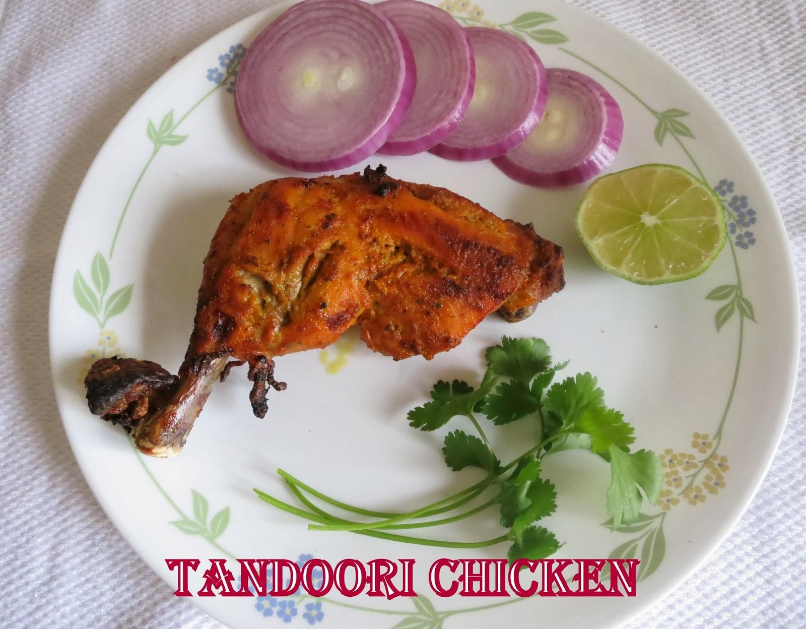 Simply Delicious Tandoori Chicken