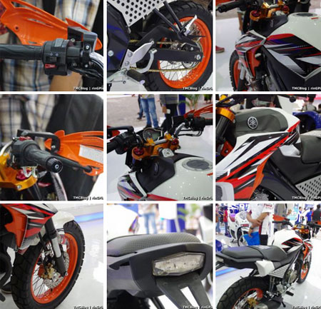contoh modifikasi Yamaha Vixion Advance 2015