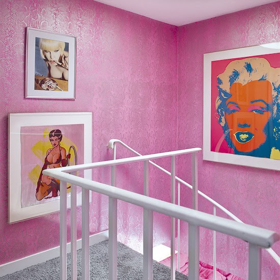 New Home Design Ideas Theme Inspiration 10 Hallway: Walls: Wallpaper Inspiration...Stairs And Stairwells