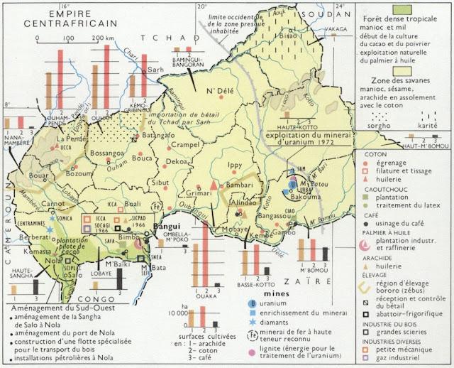 Histoire de la Centrafrique