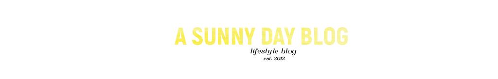 Sunny Day Blog