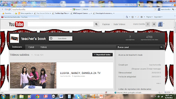 CANAL YOU TUBE/TEACHER BONILLA