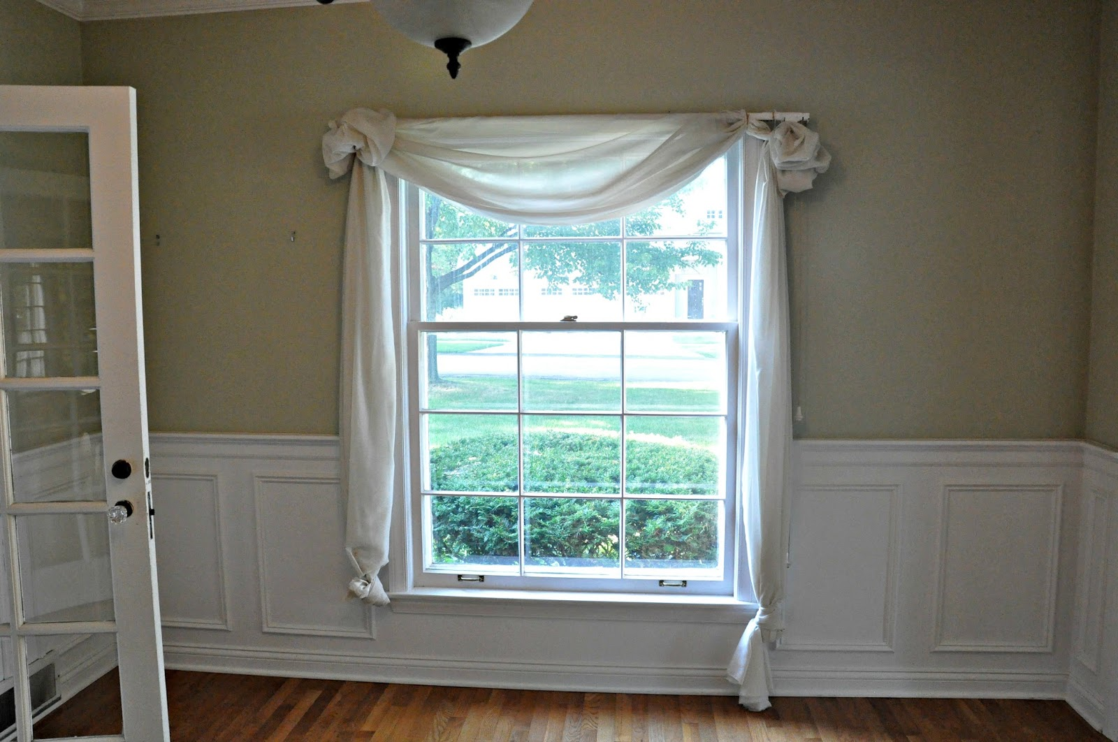 Serendipity refined blog window treatments my first 48 for What is a window treatment