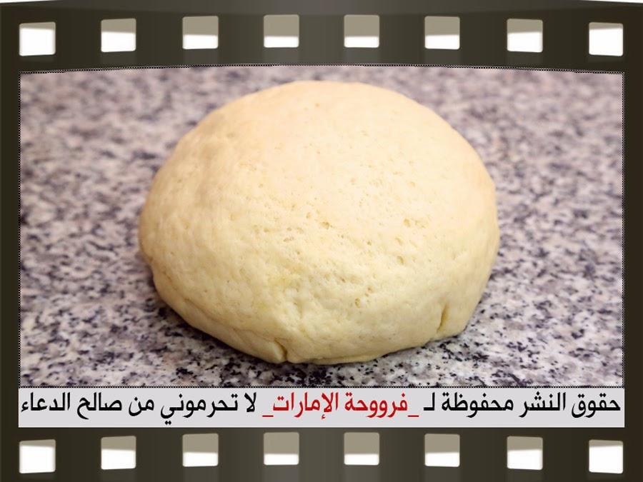 بيتزا مشكله سهلة بيتزا باللحم وبيتزا بالخضار وبيتزا بالجبن 9.jpg