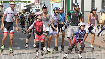 Maratón de Patinaje Calarcá