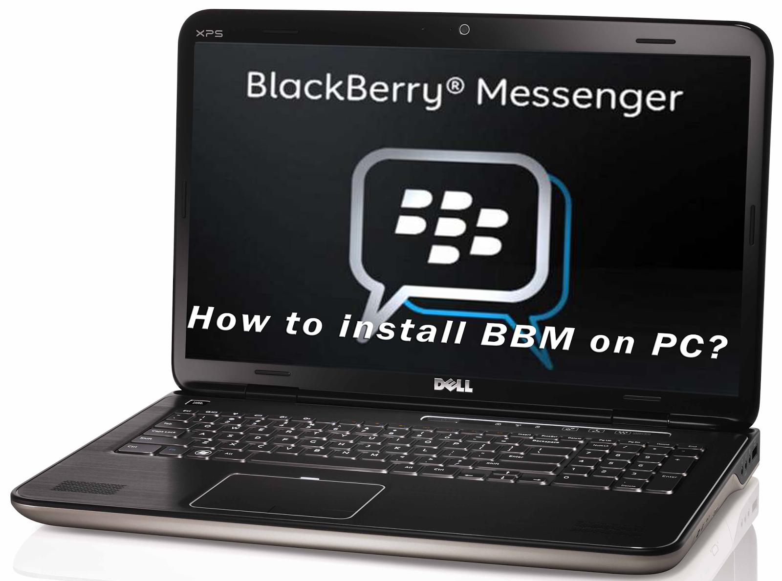 Blackberry Blend : BBM lewat PC