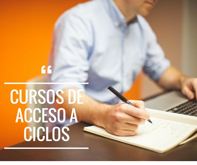 Cursos de acceso a ciclos