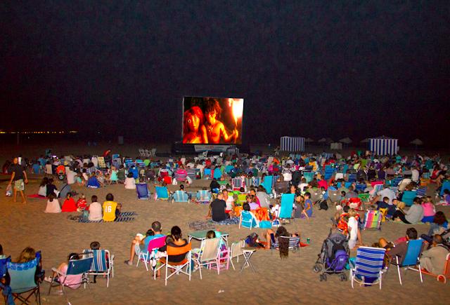 Cine en la playa - Diputación de Valencia