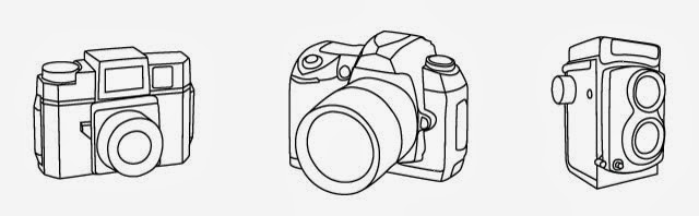Camera Vector Illustrations