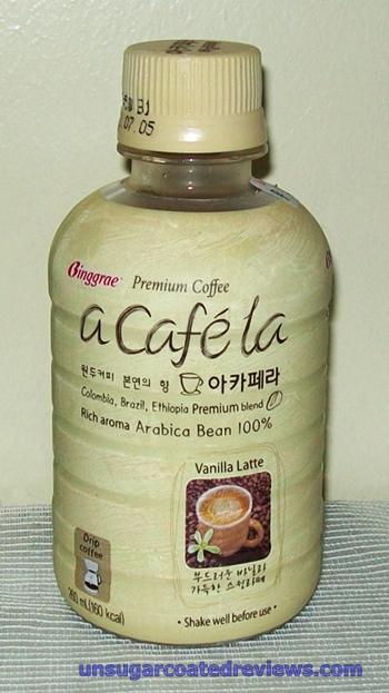 Binggrae Premium Coffee a cafe la acafela vanilla latte