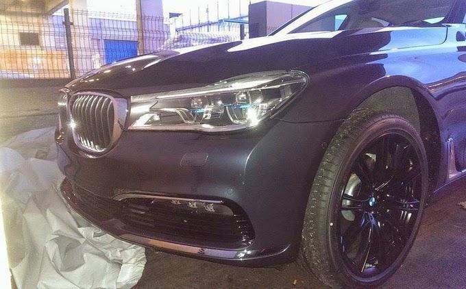 BMW serie 7 2016 REVELADO óptica frente