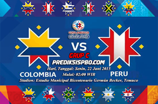 Kolombia vs Peru