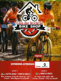 Casa das bicicletas BIKE SHOP REVENDEDOR AUTORIZADO CALOI - SCOTT