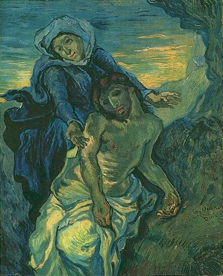 Why van gogh matters painting focus pieta after for In their paintings the impressionists often focused on