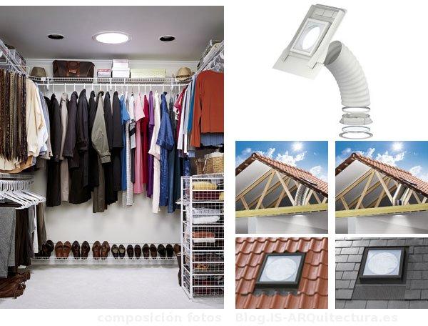 Casas ecologicas tubo solar soluci n velux con luz natural - Tubo solar velux ...