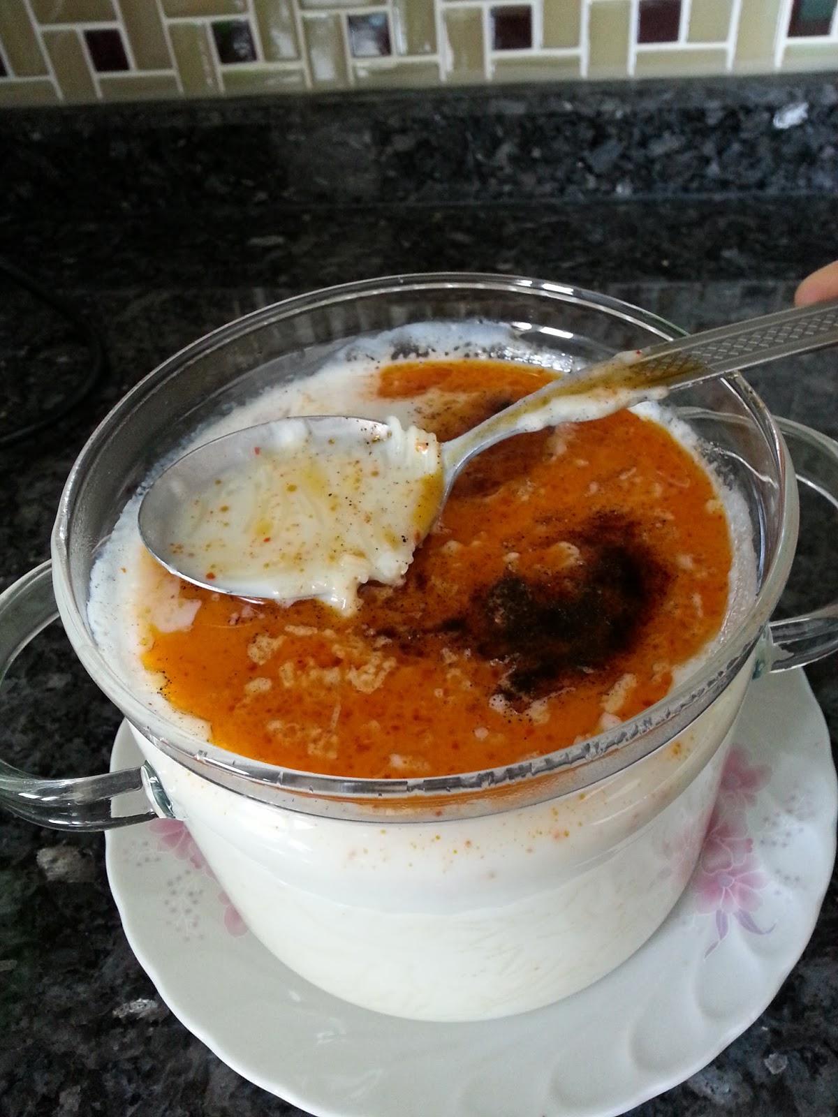 Sütlü Arpa Şehriye Çorbası