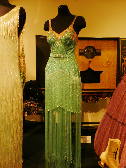 Debbie Reynolds costume exhibit Betty Grable dress by Lady by Choice