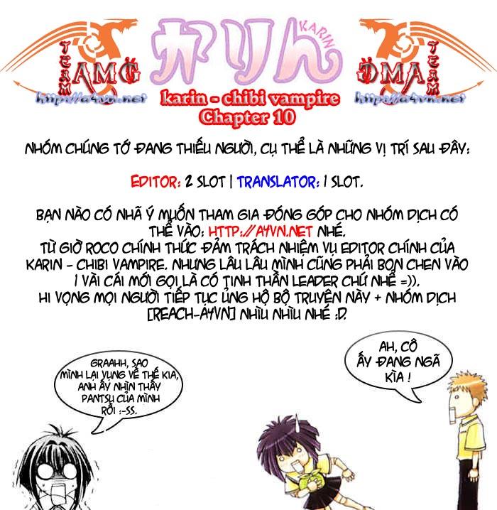 Karin - Chibi Vampire Chap 10 - Next Chap 11
