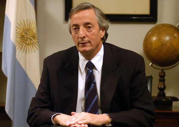 Ex presidente Nestor Kirchner