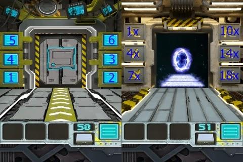 100 Doors Aliens Space Level 48 49 50 51