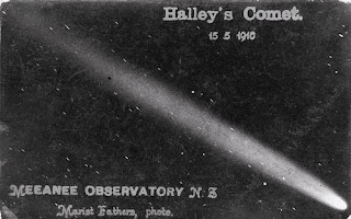 Photograph of 1910 Halley's Comet