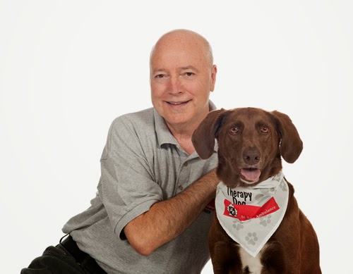 image St. John Ambulance Therapy Dog and Volunteer