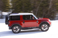 2015 New Land Rover Defender DC100 comvetible side view