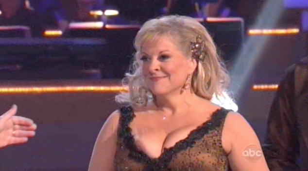 Nancy Grace Suffered A Nipple Slip On Dancing With The Stars