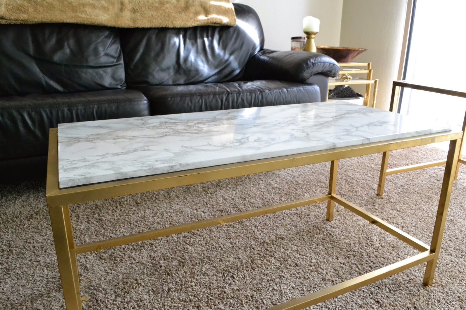 diy ikea vittjo table re hack marble edition blogher